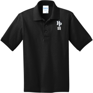 Port & Co Youth 5.5 Ounce Jersey Knit Polo